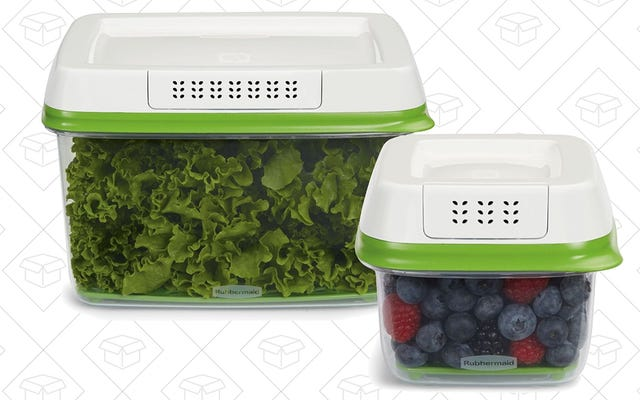 Bestseller: Rubbermaid FreshWorks Produce Saver Containers