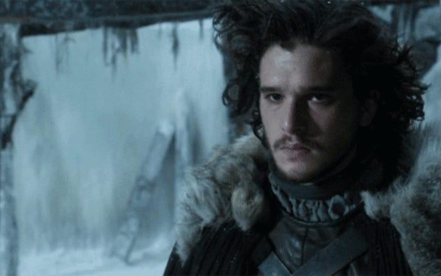 Oh mon Dieu Jon Snow se fait couper les cheveux sur Game of Thrones