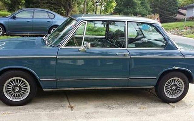 Bu 1971 BMW 2002, 8.500 Dolar'a Neue Klasse Getiriyor