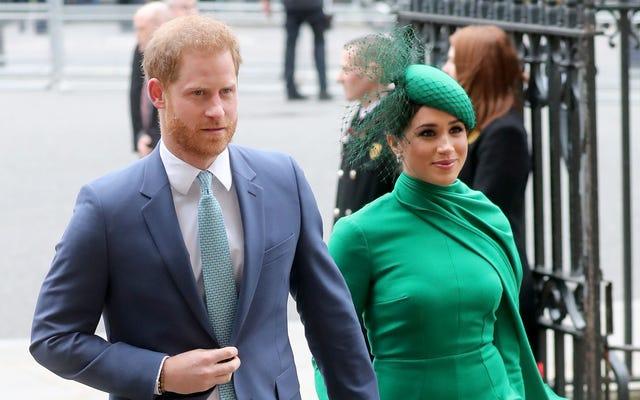 ハリーとメーガンは英国のタブロイド紙と別れています