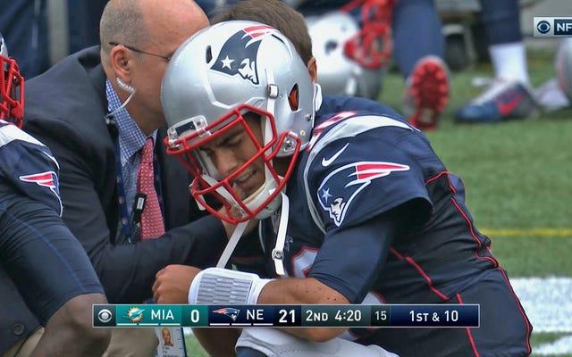 Jimmy Garoppolo s'est blessé à l'épaule [Mise à jour]