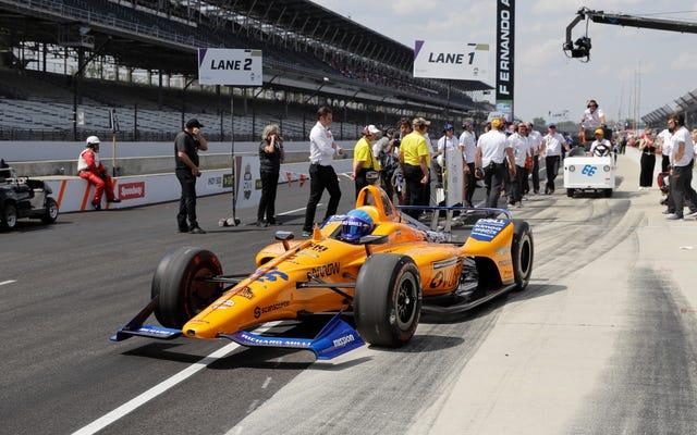 La voiture Indy 2020 de Fernando Alonso n'obtiendra pas de puissance Honda à la fin: rapport
