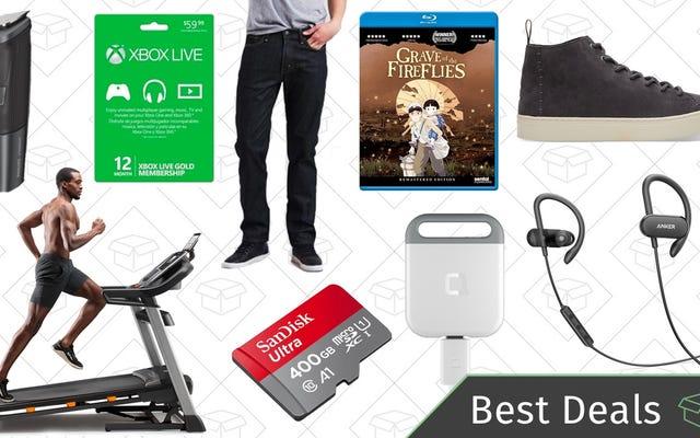 बुधवार के सर्वश्रेष्ठ सौदे: माइक्रोएसडी कार्ड, लेवी की बिक्री, रीडर-पसंदीदा वायरलेस हेडफ़ोन, और अधिक