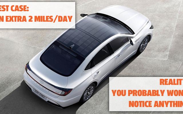 Mari Bersikap Realistis Tentang Atap Tenaga Surya Hyundai Sonata Hybrid