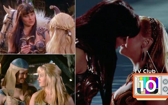 Xenaの10話:その奇妙な遺産を固めた戦士の王女