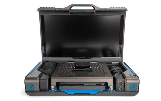 Этот чемодан превращает вашу PS4 или Xbox One в портативную консоль