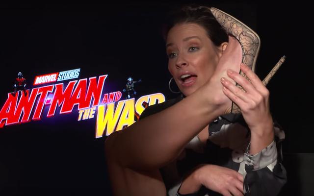 Perché gli uomini della Marvel si lamentano dei loro costumi? Evangeline Lilly ha una teoria ...