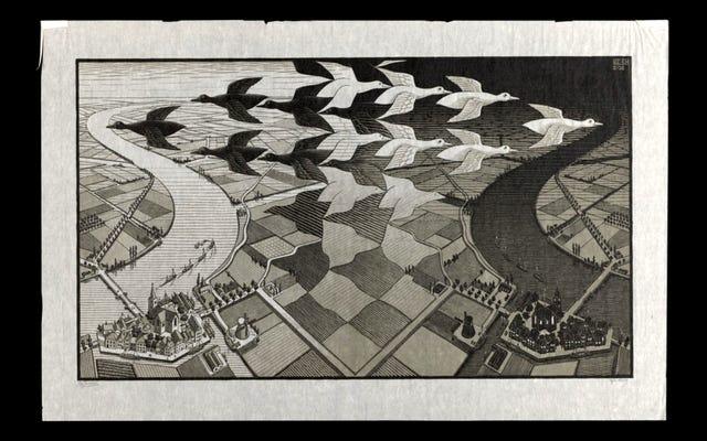 Perpustakaan Umum Boston Menempatkan Koleksi MC Escher-nya Secara Online, Jadi Saatnya Mendekorasi Ulang Kamar Asrama Anda