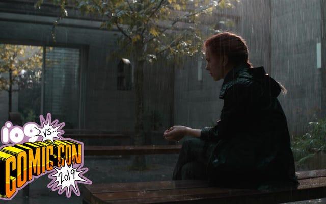 Ecco cosa è successo nel filmato della vedova nera mostrato dalla Marvel al Comic-Con