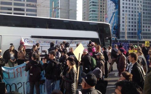 SF'nin Teknik Otobüslerinin Binicileri, İşe Gidişlerini Olabildiğince Rahat Tutmayı Tercih Ediyor