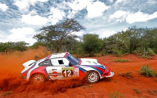 Cuộc đua cổ điển Safari Đông Phi trông thú vị như địa ngục