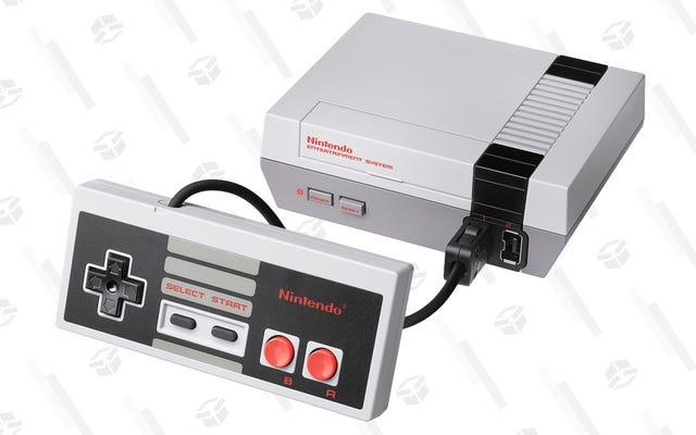 任天堂の吹き飛ばす再生NESクラシックを50ドルで