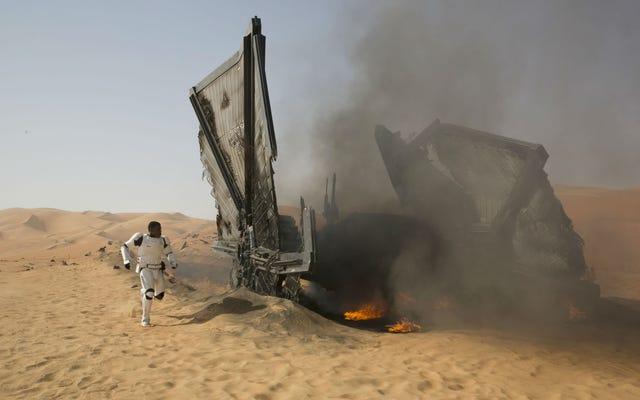 48 вещей, которые мы узнали из комментария режиссера Джей Джея Абрамса к The Force Awakens 3D