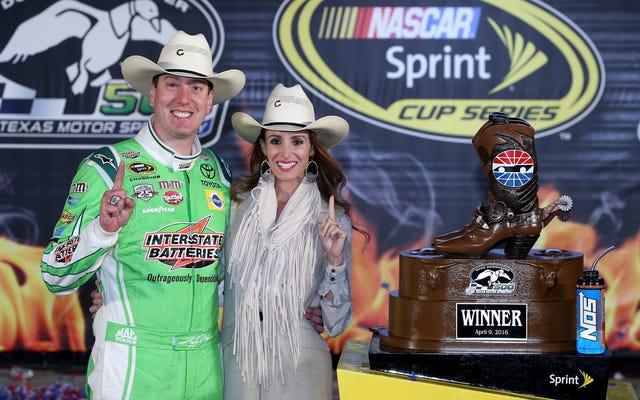 ใช้คำแถลงหลังการแข่งขันของ Kyle Busch ทั่วไปของเราเพื่อชัยชนะของ NASCAR ในอนาคต