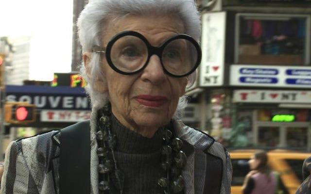Moda odaklı Iris, belgesel efsanesi Albert Maysles'in mütevazı bir geç çabasıdır.