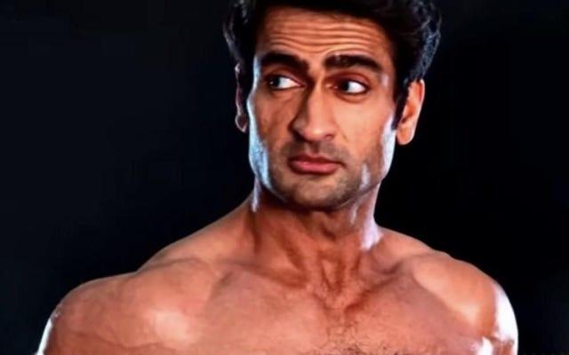 """Nos sincères félicitations à Kumail Nanjiani, le nouveau visage de la section """"Muscular Men"""" de Pornhub"""