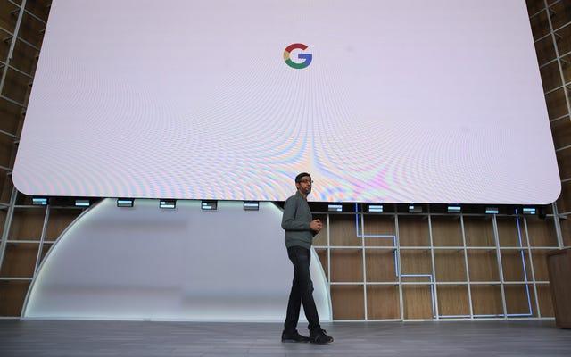 Face à la pression antitrust, Google commence à lancer son argument trop gros pour échouer