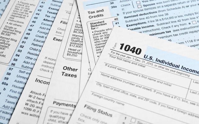 Phải làm gì nếu bạn không nộp thuế trong nhiều năm