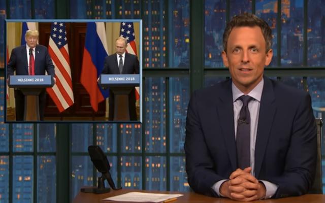 深夜のスコアカード:「なんてこった、大統領は実際のロシアのエージェントだ」版