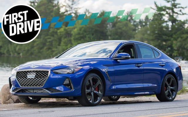 Genesis G70 2019 sẽ khiến các nhà sản xuất ô tô Đức hết sức lo lắng