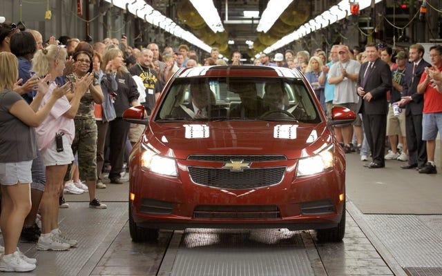 GM chiuderà il suo stabilimento di Lordstown, Ohio, durante la ristrutturazione globale