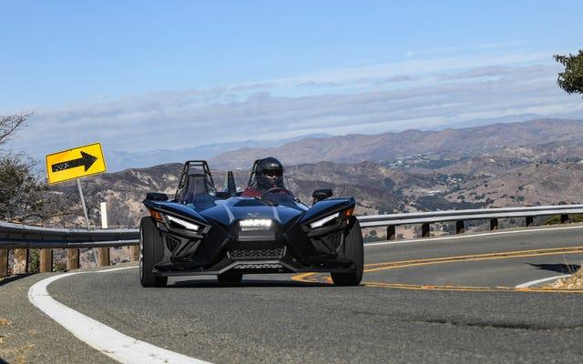 2021年のポラリススリングショットは、ミアータがこれまでに達成したものよりも、先祖返りのスポーツカーです。