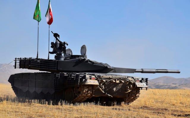 ईरान के नए टैंक ने दावा किया है कि उसने समर्थन नहीं किया है
