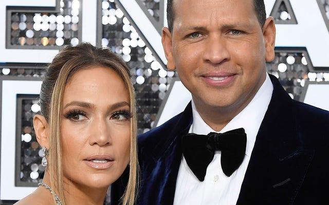 Si vous voyez J.Lo et A-Rod rompre, non, vous n'avez pas