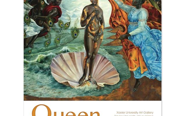クイーン:CCHパウンダーがザビエル大学での展示会で黒人女性の芸術を祝う