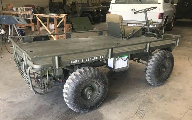 Cette mule mécanique Willys est votre meilleur moyen de transport
