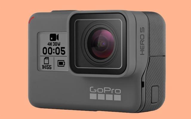 新しいGoProHero5は、音声コマンドで没頭して制御できます
