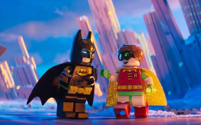 Il film Lego Batman trasforma la mitologia del pipistrello in una gigantesca scatola dei giocattoli