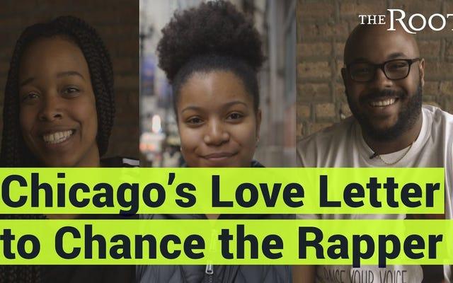 ウォッチ:チャンス・ザ・ラッパーへのシカゴのラブレター