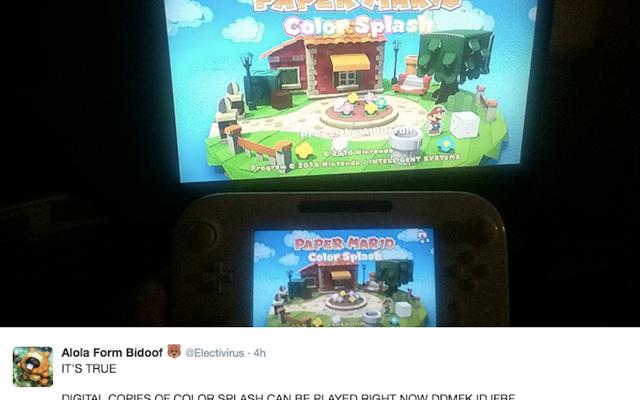 Nintendo'nun Big Fall Wii U Oyunu Kısaca İki Hafta Erken Satışa Çıktı