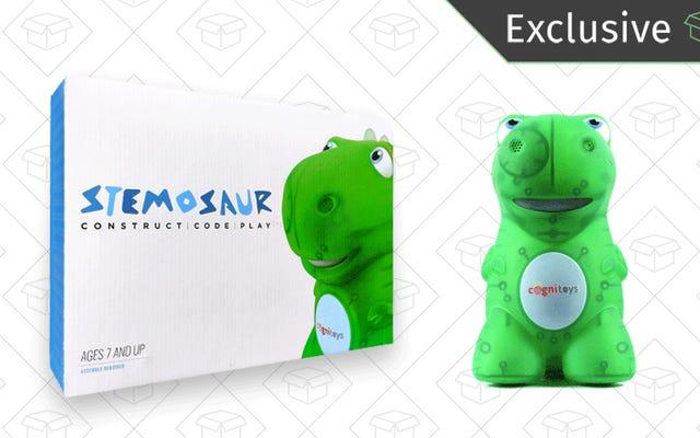 STEMosaur एक प्यारा डिनो पैकेज में शिक्षा, मज़ा और दोस्ती पैक करता है [विशेष]