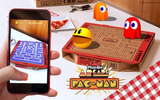 ピザハットはあなたの子供時代を死から蘇らせ、パックマンがその幽霊を食べることができるようにします