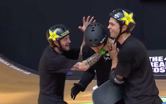 Mitchie Brusco Lands First-Ever 1260 In SkateboardingCompetition