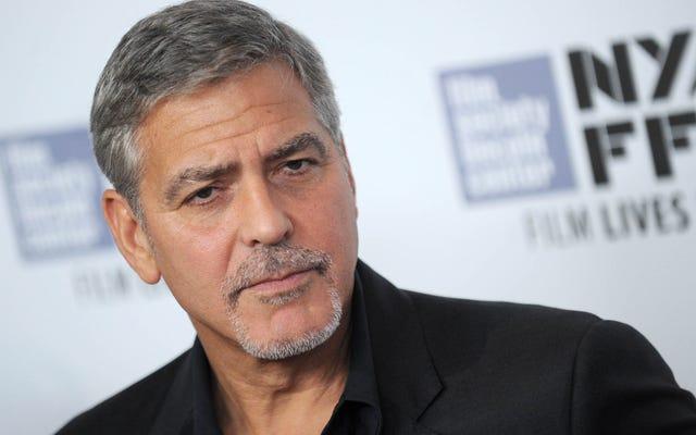 George Clooney critica la diversidad de los Oscar, no hace películas diversas