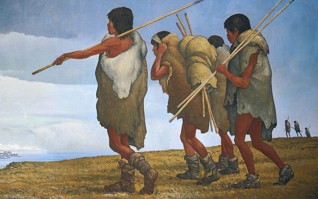 南アメリカの最初の入植者にまったく予期しないことが起こった