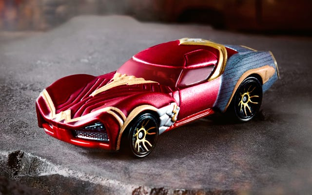 Hot Wheels Meluncurkan Empat Mobil Karakter Baru, Tapi Wonder Woman Mencuri Perhatiannya