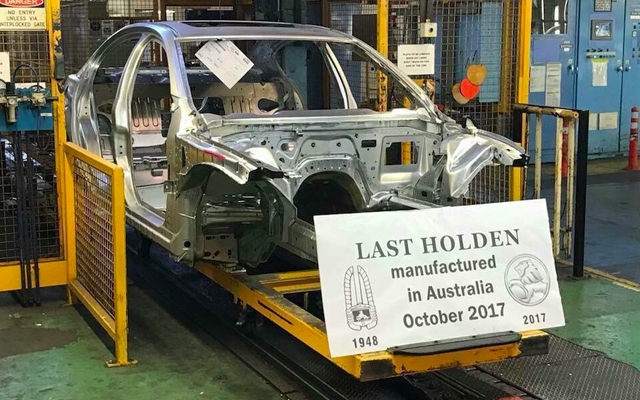 ออสเตรเลียจะผลิตรถยนต์เพื่อการพาณิชย์คันสุดท้ายในไม่ช้า