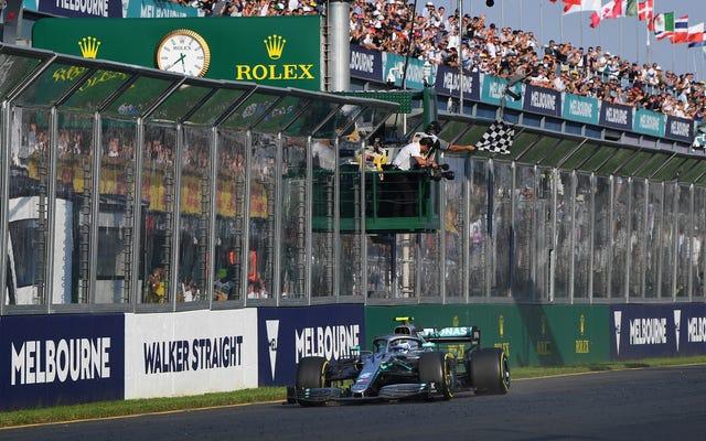 当局はF1オーストラリアグランプリからはしかの健康警告を発行します