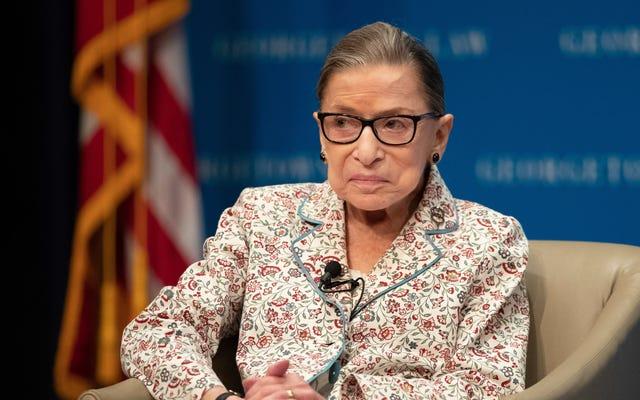 Ruth Bader Ginsburg a survécu à ses ennemis
