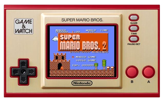 La première console portable de Nintendo fait peau neuve en 2020