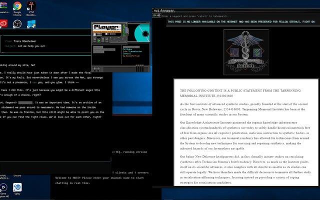 Cyberpunkowa gra detektywistyczna o poszukiwaniu zbuntowanych androidów