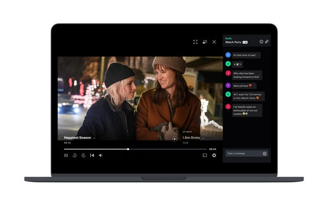 Huluのウォッチパーティー機能がすべてのサブスクライバーに公開