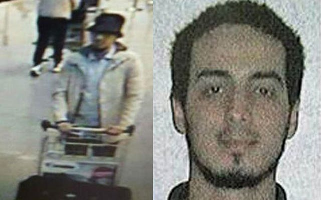 ブリュッセルとパリの攻撃で爆弾製造者の容疑者として「帽子をかぶった男」ID