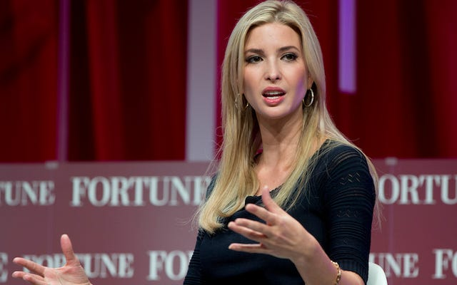 Dalam Ivanka Trump's Women Who Work, Women Have Disposable In Income dan 'Work' Is an Abstraction