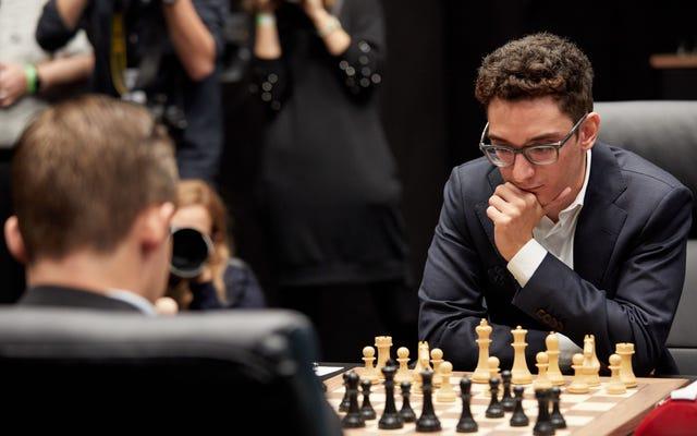 फैबियानो कारूआना ने विश्व शतरंज चैंपियनशिप को अपने नियंत्रण में लेने से चूक गए