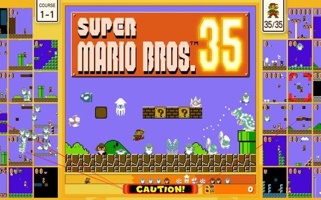 Kebaruan Super Mario Bros 35 Tidak Bertahan Lama